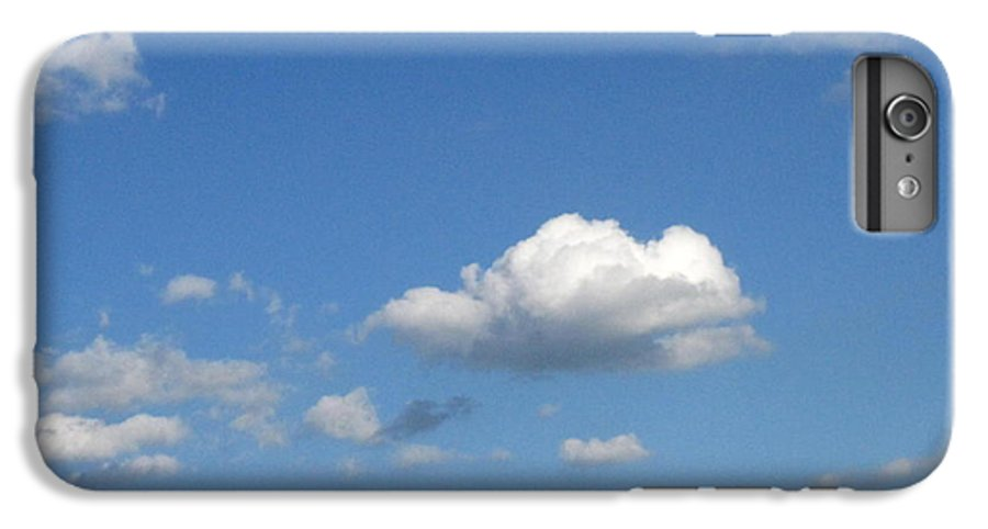 Clouds IPhone 6 Plus Case featuring the photograph Wide Open by Rhonda Barrett
