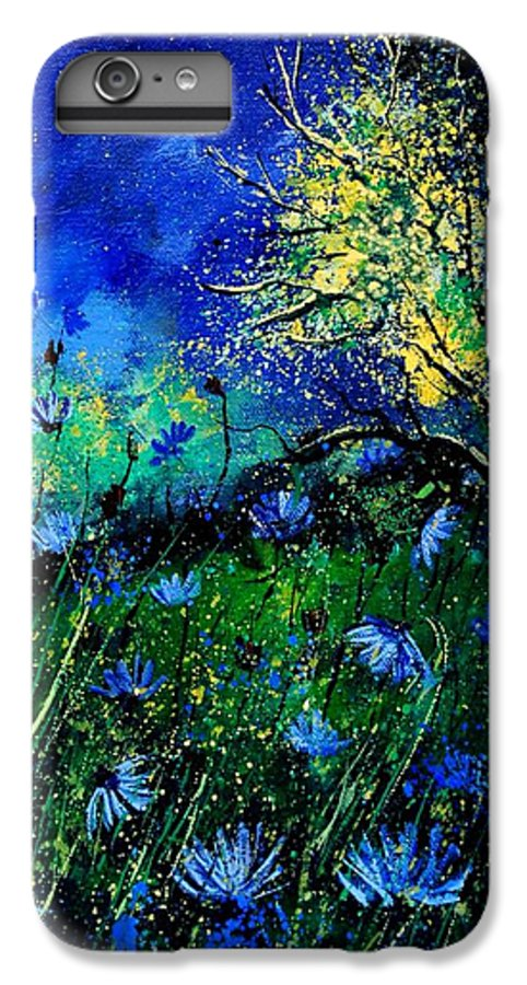 Poppies IPhone 6 Plus Case featuring the painting Wild Chocoree by Pol Ledent