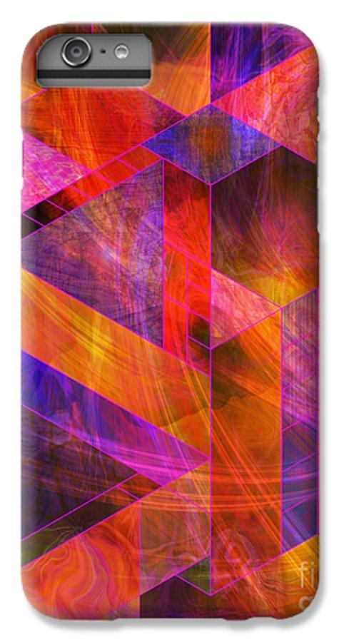 Wild Fire IPhone 6 Plus Case featuring the digital art Wild Fire by John Beck