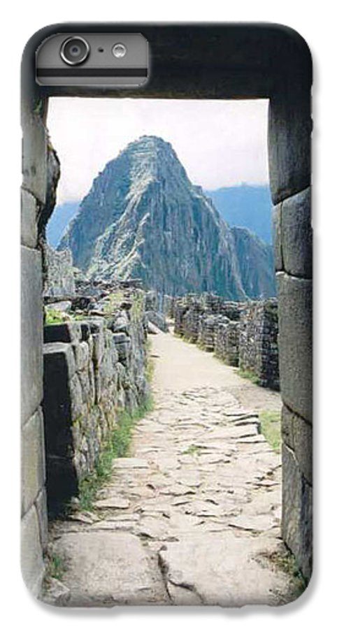 Peru IPhone 6 Plus Case featuring the photograph Winay Picchu by Kathy Schumann