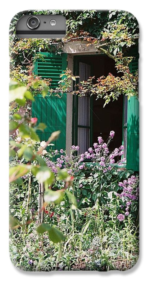 Charming IPhone 6 Plus Case featuring the photograph Window To Monet by Nadine Rippelmeyer