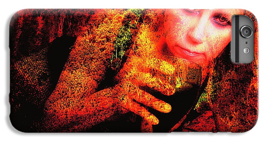 Clay IPhone 6 Plus Case featuring the photograph Wine Woman And Fall Colors by Clayton Bruster