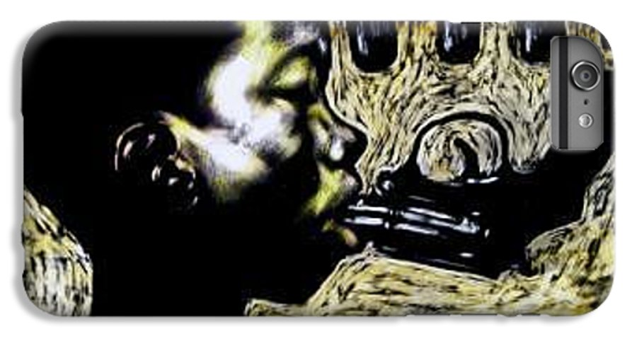 Commentary IPhone 6 Plus Case featuring the mixed media Www. by Chester Elmore