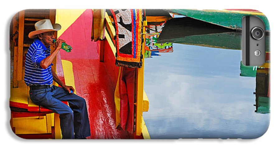 Skip Hunt IPhone 6 Plus Case featuring the photograph Xochimilco by Skip Hunt