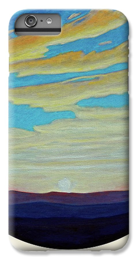 Landscape IPhone 6 Plus Case featuring the painting Yesterday by Brian Commerford