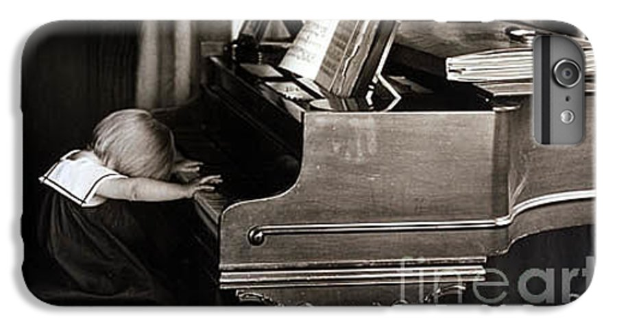 Piano IPhone 6 Plus Case featuring the photograph Young Beethoven by Michael Ziegler