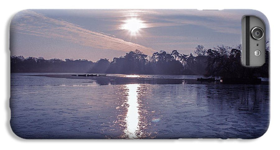 Lake IPhone 6 Plus Case featuring the photograph Frozen by Claire Lowe