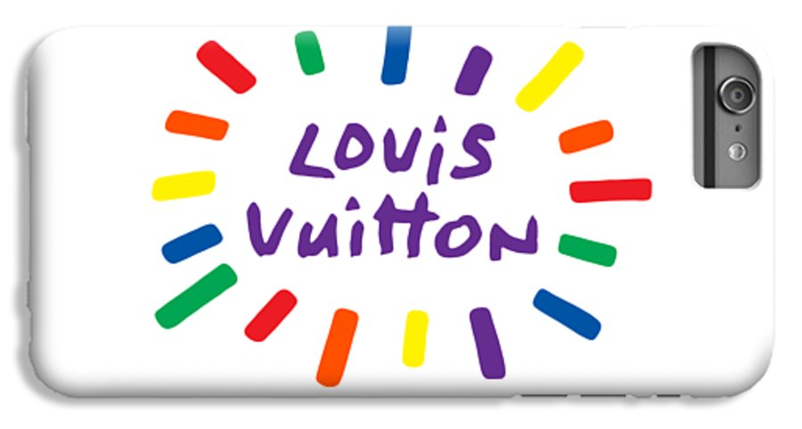 Lv IPhone 6 Plus Case featuring the painting Louis Vuitton Radiant-7 by Nikita