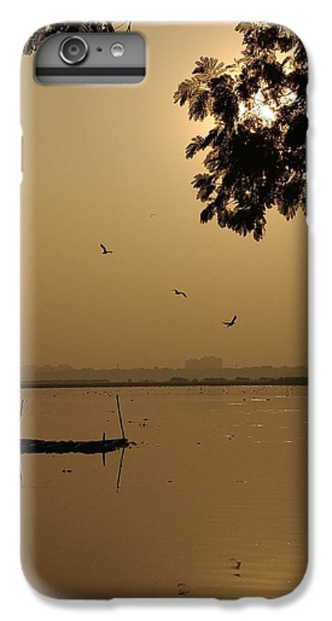 Sunset IPhone 6 Plus Case featuring the photograph Sunset by Priya Hazra
