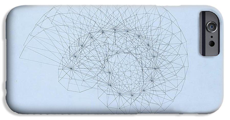 Jason Padgett IPhone 6s Case featuring the drawing Quantum Nautilus by Jason Padgett