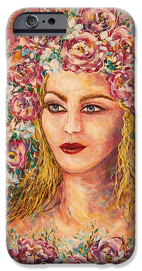Goddess IPhone 6s Case featuring the painting Good Fortune Goddess by Natalie Holland