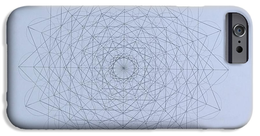 Jason IPhone 6s Case featuring the drawing Quantum Foam by Jason Padgett