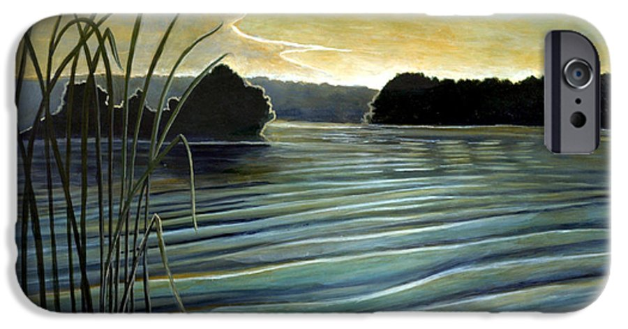 Rick Huotari IPhone 6s Case featuring the painting What A Beautifull Morning by Rick Huotari