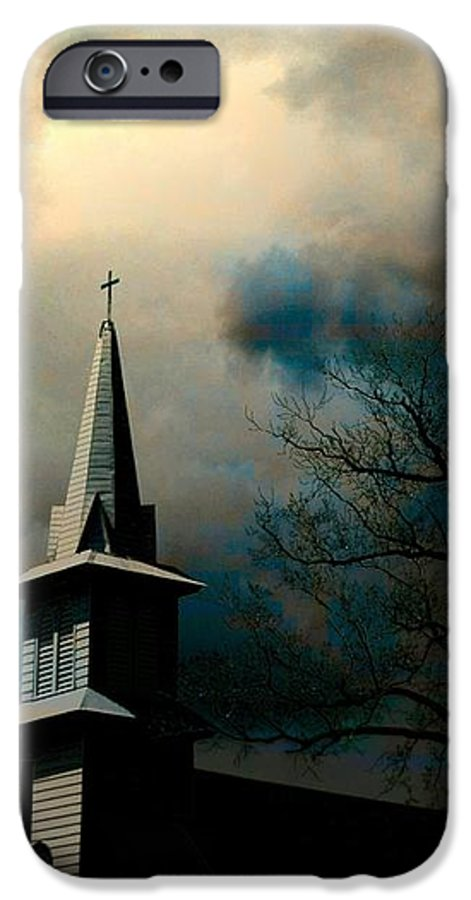 Church IPhone 6s Case featuring the photograph A Light Breaks Through by Jeffrey Todd Moore