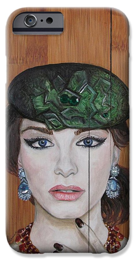 Oil Painting IPhone 6s Case featuring the painting All That Girls Love 2 by Malinda Prudhomme