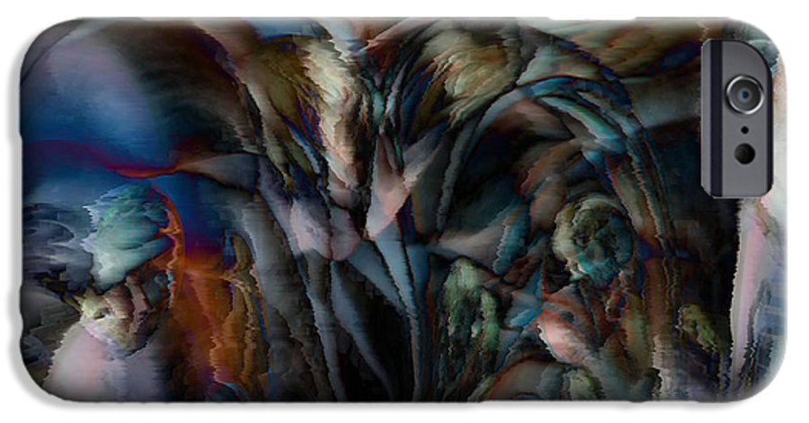 Another World Art IPhone 6s Case featuring the digital art Another World by Linda Sannuti