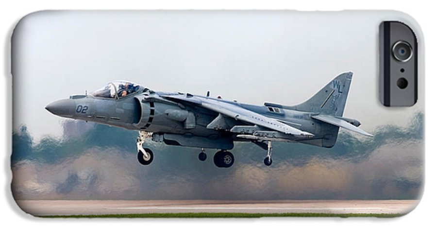 3scape Photos IPhone 6s Case featuring the photograph Av-8b Harrier by Adam Romanowicz