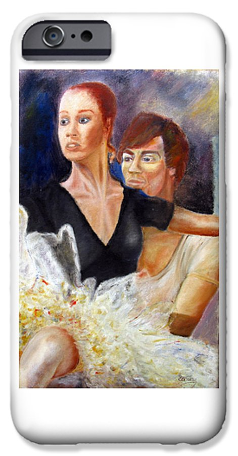 Ballet IPhone 6s Case featuring the painting Ballet Dancers Rehearse For La Bayadere by Tom Conway
