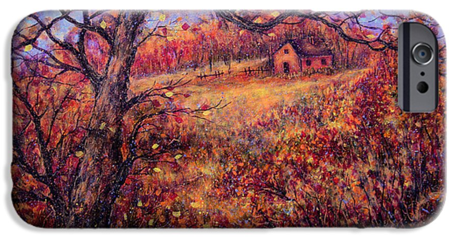 Autumn IPhone 6s Case featuring the painting Beautiful Autumn by Natalie Holland