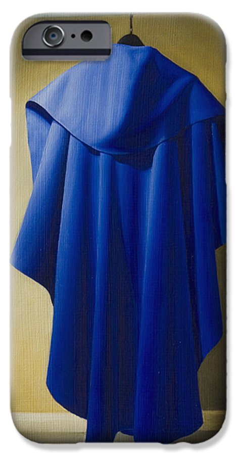 Realism IPhone 6s Case featuring the painting Blue Cape by Gary Hernandez