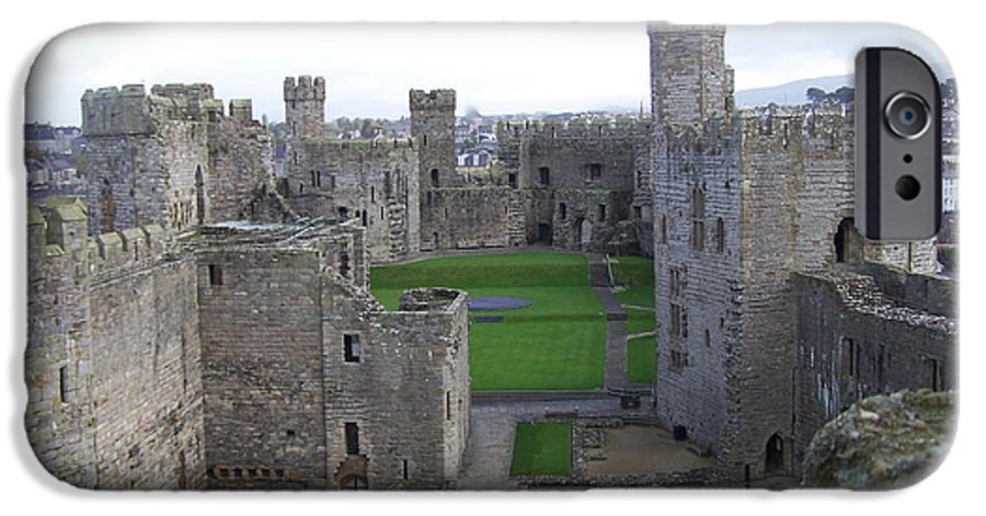 Castles IPhone 6s Case featuring the photograph Caernarfon Castle by Christopher Rowlands