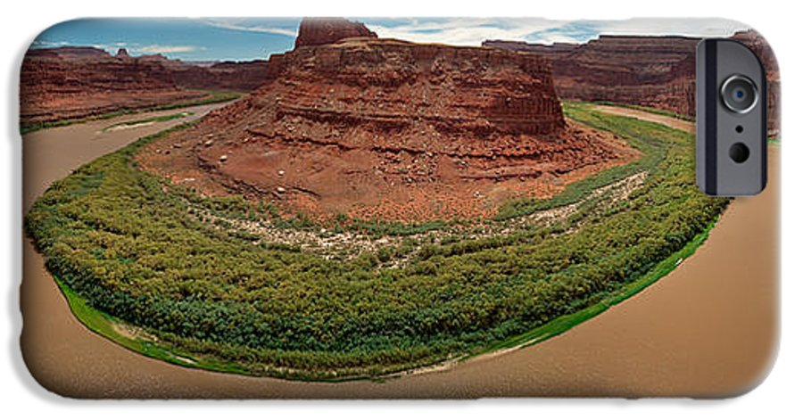 3scape Photos IPhone 6s Case featuring the photograph Colorado River Gooseneck by Adam Romanowicz