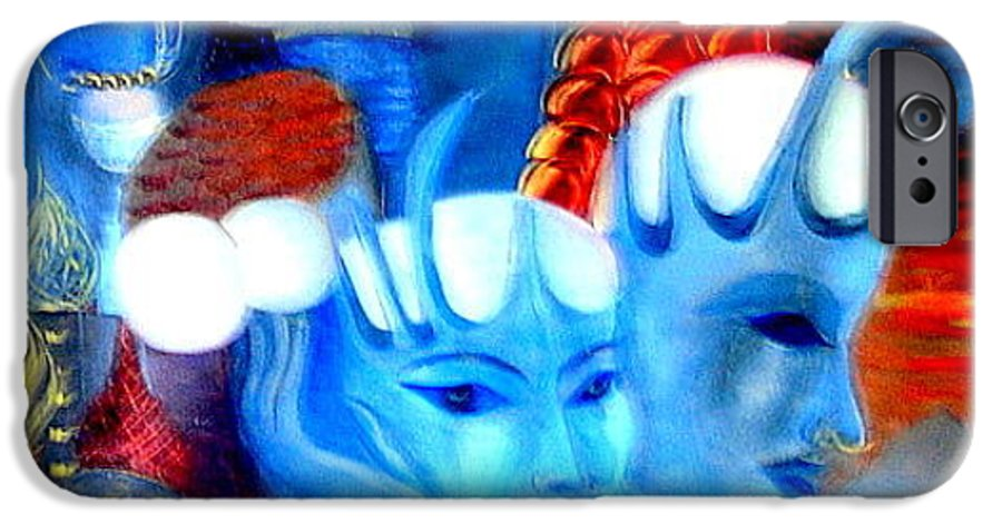 Surrealism IPhone 6s Case featuring the painting Dreams Of Russia by Pilar Martinez-Byrne