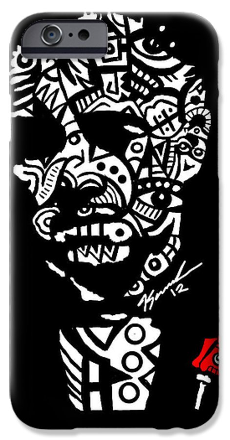 Thegodfather IPhone 6s Case featuring the digital art Father God by Kamoni Khem
