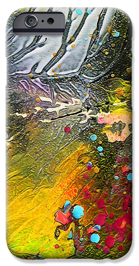 Miki IPhone 6s Case featuring the painting First Light by Miki De Goodaboom