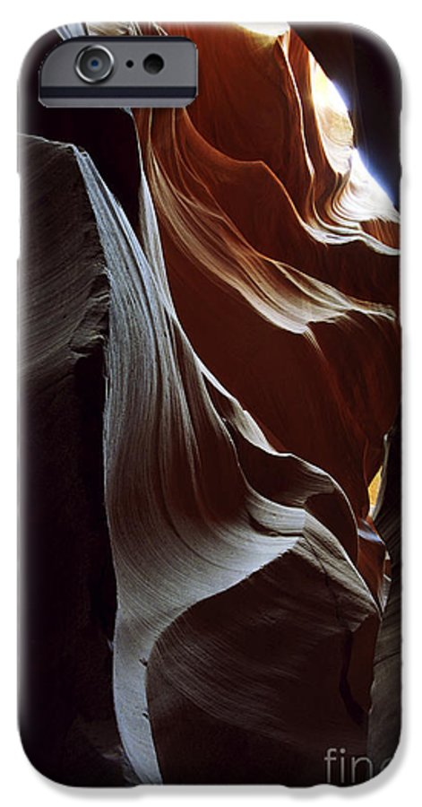 Antelope Canyon IPhone 6s Case featuring the photograph Follow The Light by Kathy McClure