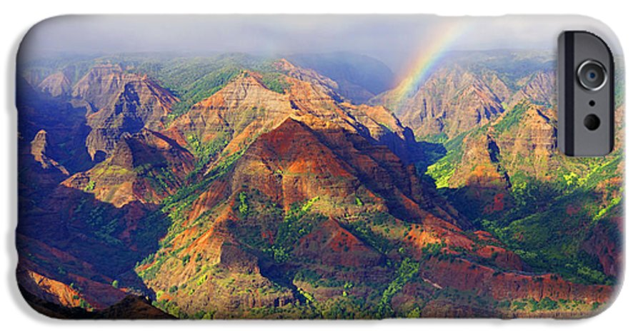 Waimea Canyon IPhone 6s Case featuring the photograph Grand Canyon Of The Pacific by Kevin Smith