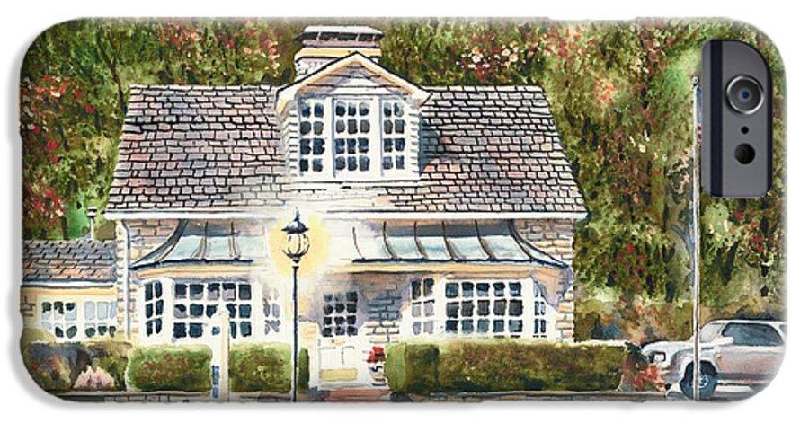 Greystone Inn Ii IPhone 6s Case featuring the painting Greystone Inn II by Kip DeVore