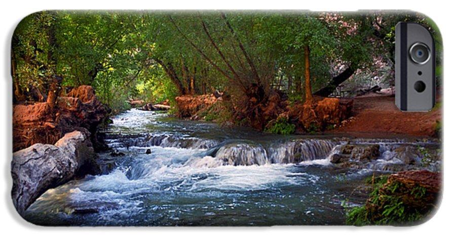 Arizona IPhone 6s Case featuring the photograph Havasu Creek by Kathy McClure