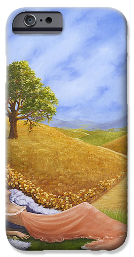 Angel IPhone 6s Case featuring the painting Heaven On Earth by Brenda Ellis Sauro
