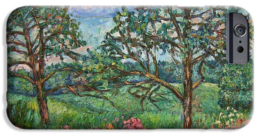 Landscape IPhone 6s Case featuring the painting Kraft Avenue In Blacksburg by Kendall Kessler