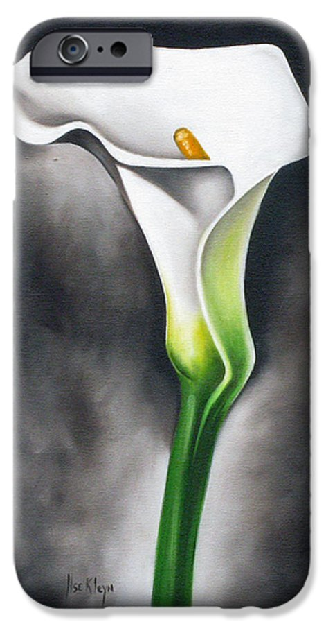 Lilly IPhone 6s Case featuring the painting Lily by Ilse Kleyn