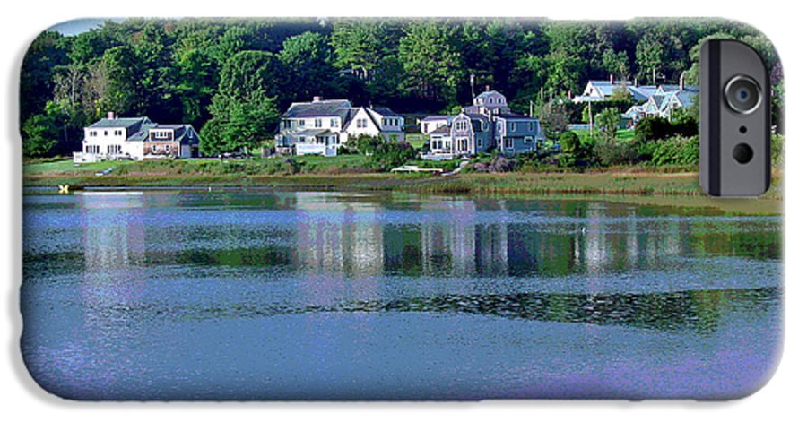 Maine IPhone 6s Case featuring the photograph Maine Lakefront by Suzanne Gaff