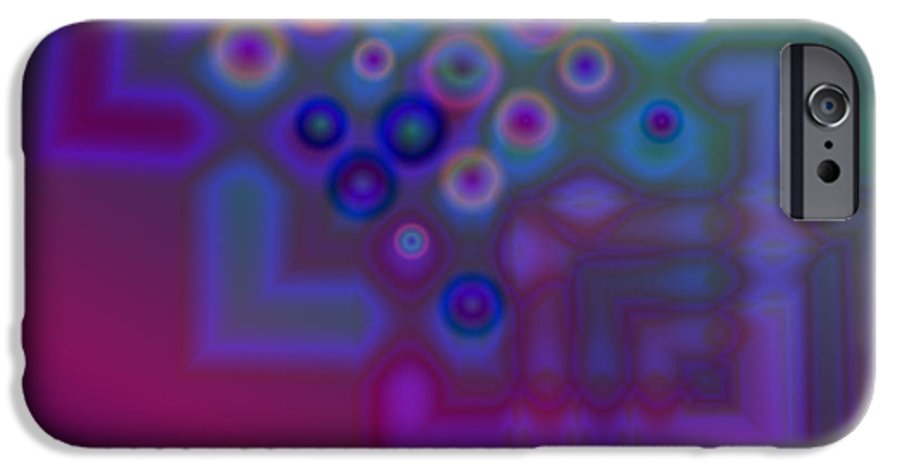 Nature IPhone 6s Case featuring the digital art One Way Street by Jimi Bush