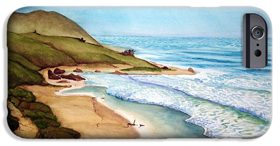 Rick Huotari IPhone 6s Case featuring the painting Pacific by Rick Huotari