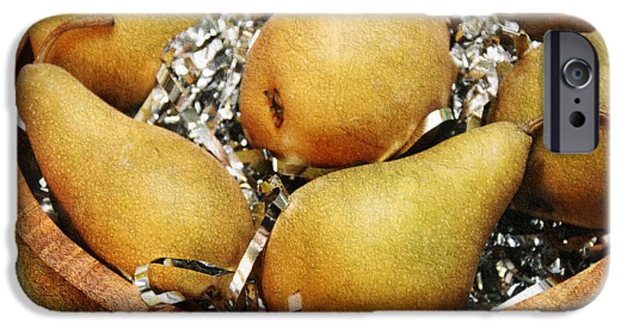 Pear IPhone 6s Case featuring the photograph Party Pears by Andee Design