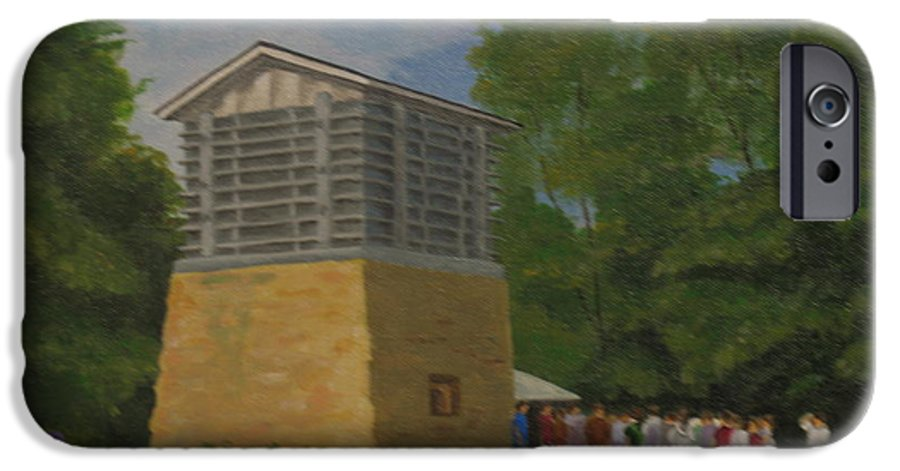 Polo IPhone 6s Case featuring the painting Polo Lime Kiln by Ellen Ebert
