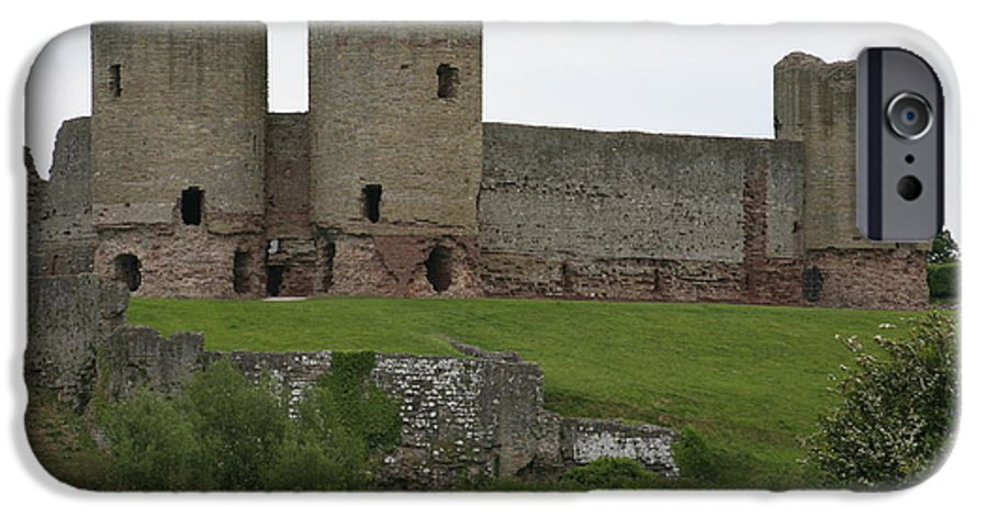 Castles IPhone 6s Case featuring the photograph Ruddlan Castle 2 by Christopher Rowlands