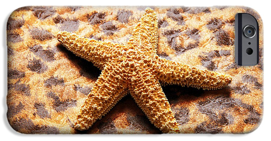Starfish IPhone 6s Case featuring the photograph Starfish Enterprise by Andee Design