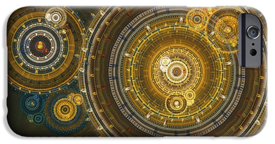 Time IPhone 6s Case featuring the digital art Steampunk Dream by Martin Capek
