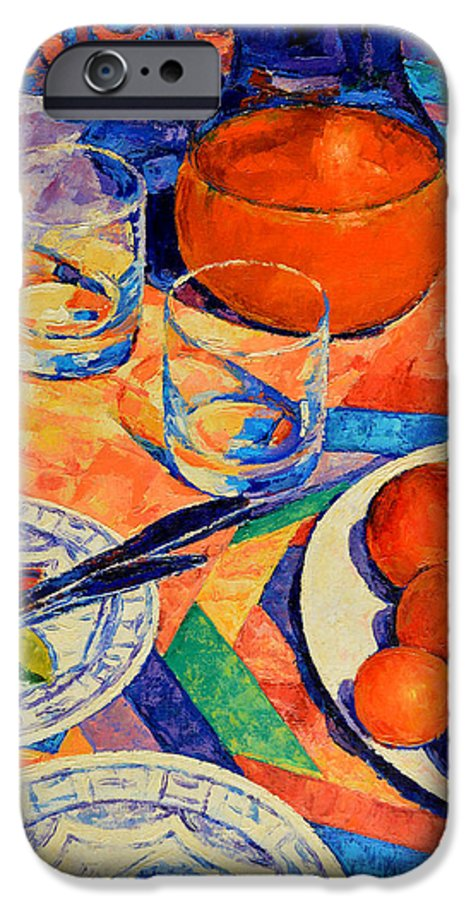 Still Life IPhone 6s Case featuring the painting Still Life 1 by Iliyan Bozhanov
