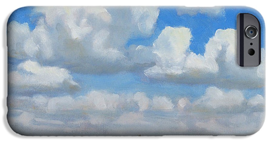 Landscape IPhone 6s Case featuring the painting Summer Pasture by Bruce Morrison