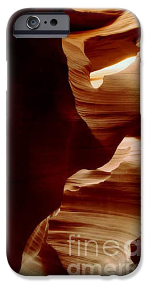 Landscape IPhone 6s Case featuring the photograph The Heart Of Antelope Canyon by Kathy McClure