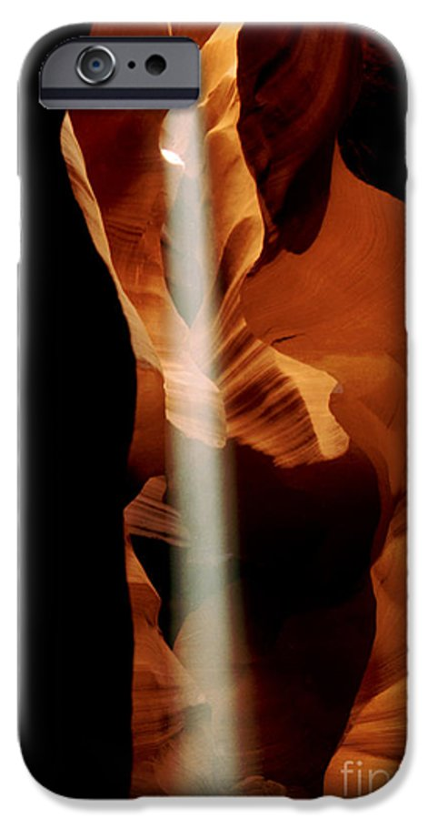 Antelope Canyon IPhone 6s Case featuring the photograph The Source by Kathy McClure