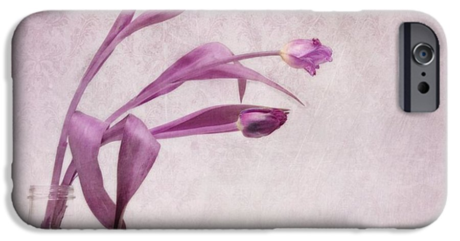 Tulips IPhone 6s Case featuring the photograph Three Of Us by Priska Wettstein