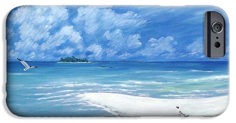 Seascape IPhone 6s Case featuring the painting Treasure Cay by Danielle Perry